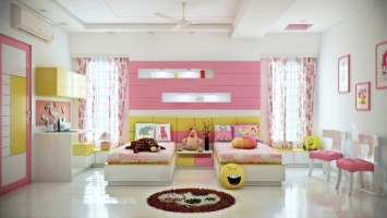 Painting it Pink A Teen Girls Colorful Bedroom  Emily A